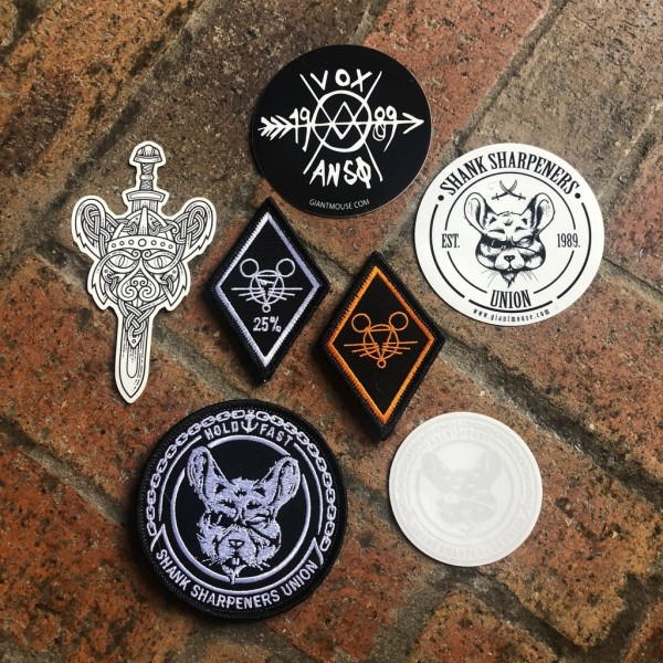 Giantmouse Sticker and Patches