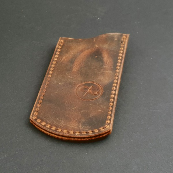 ClipSlip dark brown PullUp Leather