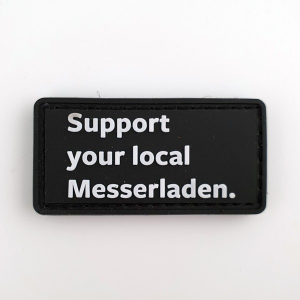 Support your local Messerladen Patch
