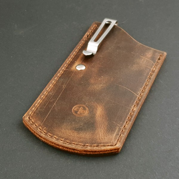 The ClipSlip Pull Up Leather (Dunkelbraun)